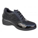 Adam's 7557 Μαύρα Γυναικεία Sneakers - Αθλητικά