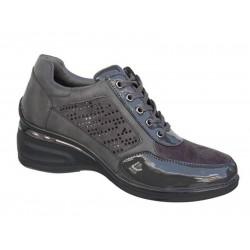 Adam's 7557 Γκρι Γυναικεία Sneakers - Αθλητικά