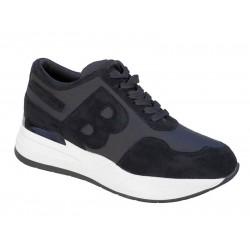 Adam's 872-19502 Μαύρα Γυναικεία Sneakers - Αθλητικά