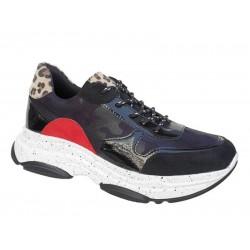 Adam's 872-19501 Μαύρα Γυναικεία Sneakers - Αθλητικά