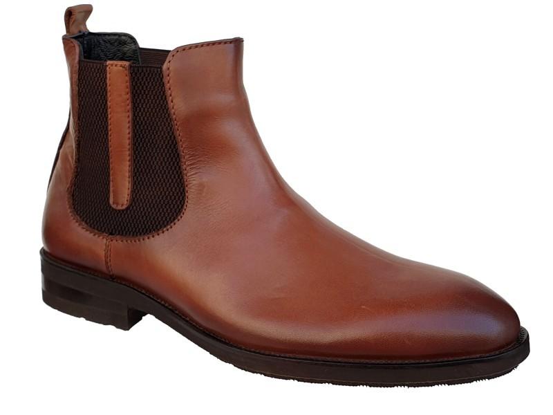 Casual Ανδρικά Μποτάκια | Boxer shoes 19006 10-014 Καφέ