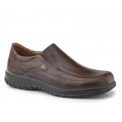 Ανδρικά Παπούτσια Boxer shoes 14722 18-114 Καφέ Μοκασίνια