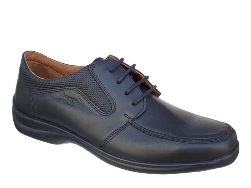 Ανδρικά παπούτσια Boxer shoes air 16117 14-111 Μαύρα Σκαρπίνια