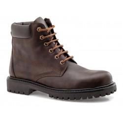 Boxer shoes 03204 11-514 Καφέ Ανδρικά Μποτάκια