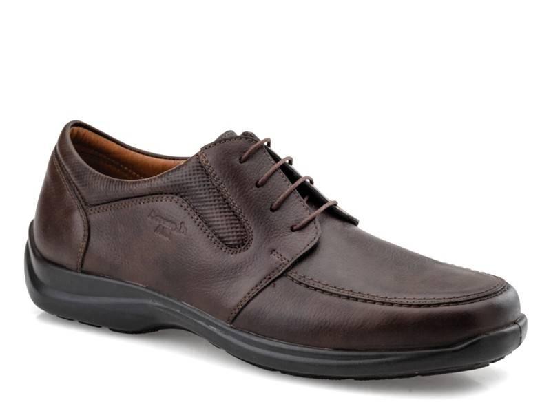 Ανδρικά ανατομικά παπούτσια   Boxer shoes air 16117 11-514 Καφέ