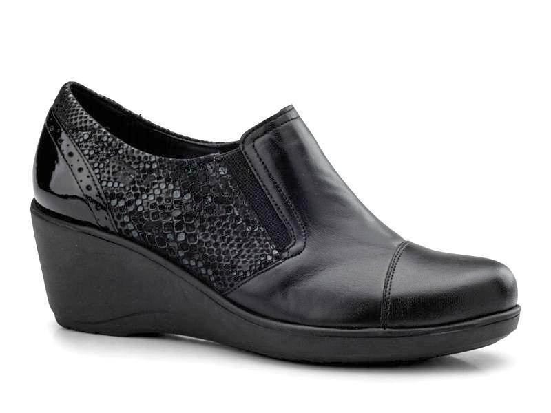 Γυναικεία Παπούτσια - Boxer soft  58794 17-011 - Δερμάτινα Μοκασίνια