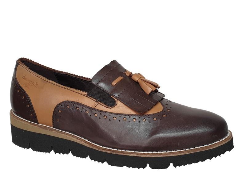Boxer soft 93003 10-019 | Γυναικεία Ανατoμικά παπούτσια Oxford