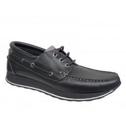 Spor Ανδρικά Δερμάτινα Παπούτσια   Gallen shoes 250 Μαύρο