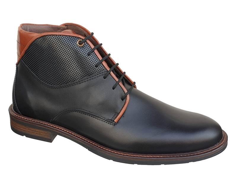 Ανδρικά Παπούτσια | Gallen 500 | Casual Δερμάτινα Δετά Μποτάκια