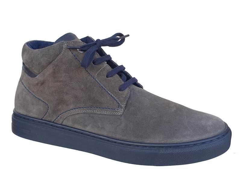 Ανδρικά Ημίμποτα   Kricket WOW shoes 9031 Γκρι   Μποτάκια καστόρι