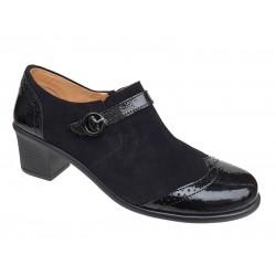 Relax anatomic 9304-32 Μαύρα Γυναικεία Παπούτσια Oxford