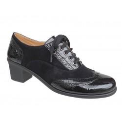 Relax anatomic 9306-32 Μαύρα Γυναικεία Παπούτσια Oxford