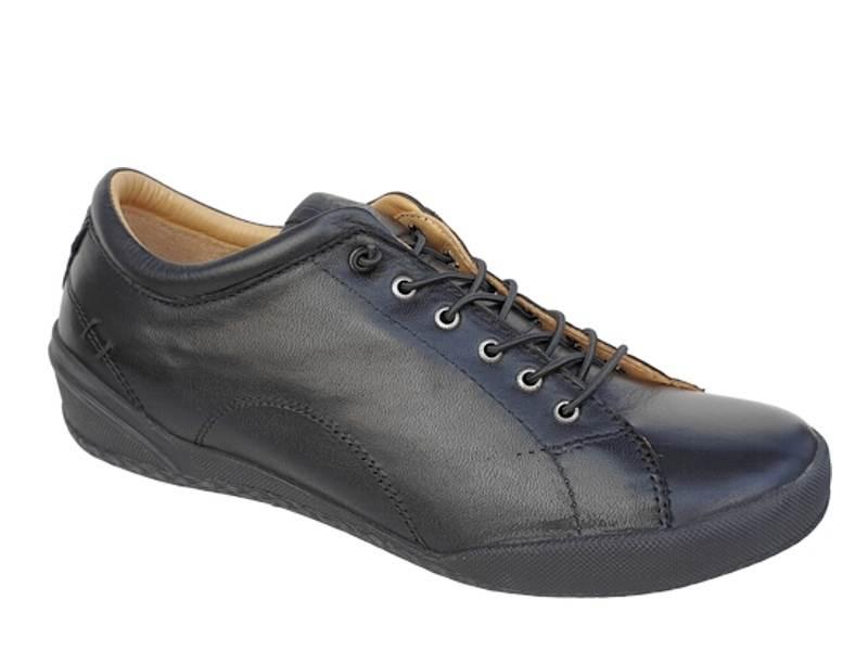 Γυναικεία Ανατομικά Παπούτσια   SAFE STEP 18403 Μαύρα   Μοκασίνια