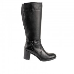 SOFTIES 7174 Μαύρες Γυναικείες Μπότες