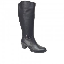 SOFTIES 7161 Μαύρες Γυναικείες Μπότες