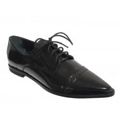 Sagias 1001 Μαύρα Γυναικεία παπούτσια Oxford