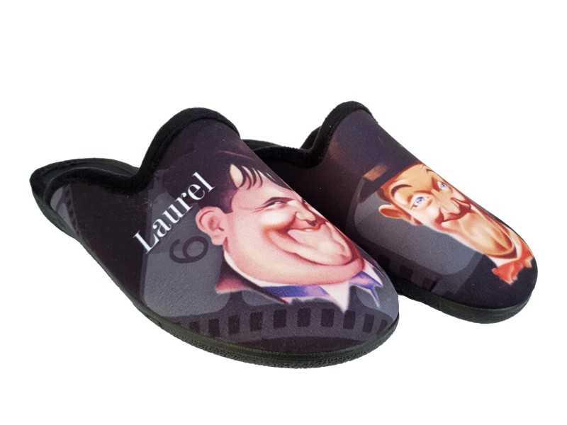 Adam's   Μοντέρνες Ανδρικές Παντόφλες   Laurel Hardy