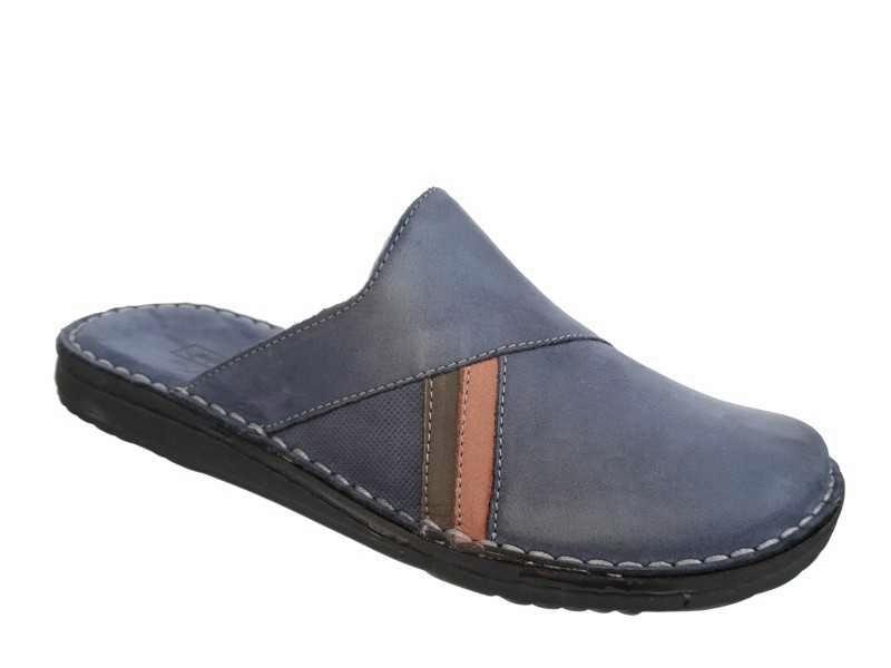 Adam's shoes | Ανατομικές Δερμάτινες Ανδρικές Παντόφλες