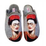Μοντέρνες Γυναικείες Παντόφλες Frida Kahlo | ADAM'S