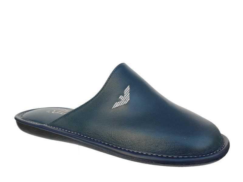 Ανδρικές Παντόφλες   Aeroflex 1545 Δέρμα   Papoutsomania.gr