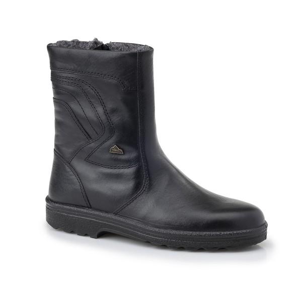 Ανδρικά Παπούτσια Boxer 01535 18-111 Μαύρα μποτάκια Δερμάτινα