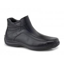 Boxer shoes 16106 14-111 Μαύρα Ανδρικά Μποτάκια