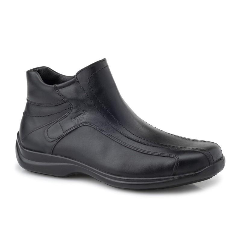 abd0ecfe9e9 Boxer shoes 16106 14-111 Μαύρα Ανδρικά Μποτάκια - papoutsomania.gr