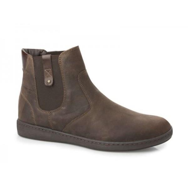 Ανδρικά Παπούτσια Boxer 21107 34-014 Καφέ Μποτάκια