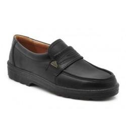 Ανδρικά Παπούτσια Boxer 01529 18-111 Μαύρα Μοκασίνια Δερμάτινα
