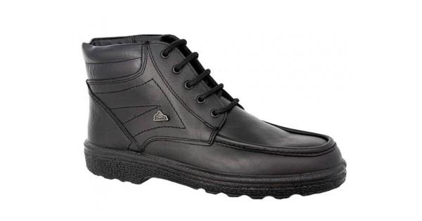 Boxer 01533 18-111 Μαύρα Ημίμποτα - Ανδρικά Παπούτσια Δερμάτινα ... 2a551541d64