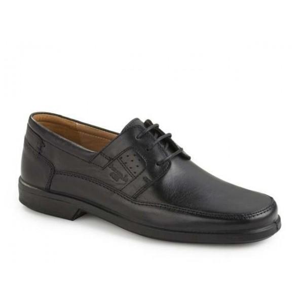 Ανδρικά Παπούτσια Boxer 10066 14-111 Μαύρα Casual Σκαρπίνια