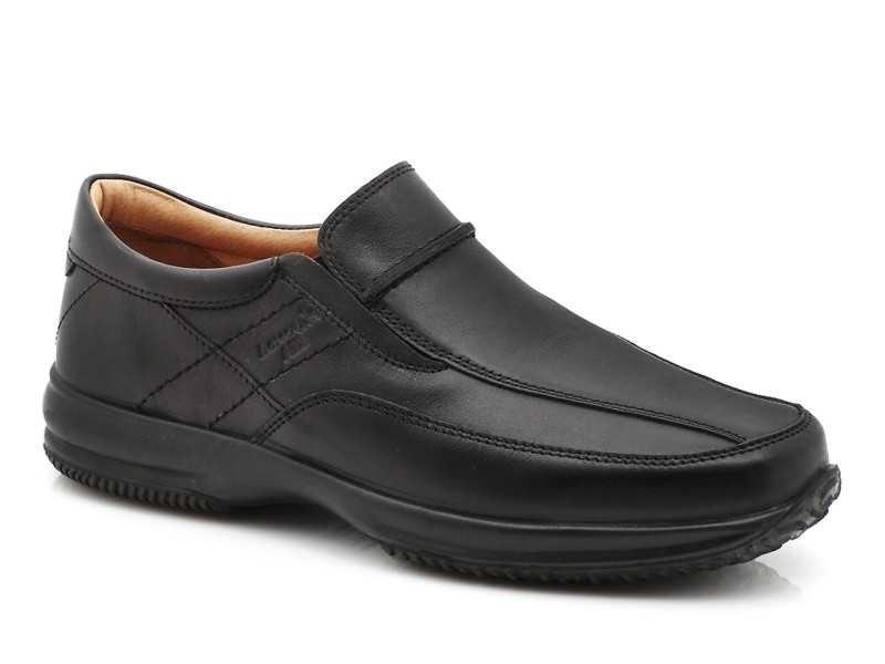 Ανδρικά Παπούτσια Boxer 12087 14-111 Μαύρα Casual Μοκασίνια.