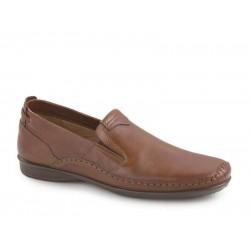 Ανδρικά Παπούτσια Boxer 15306 14-119 Ταμπά Μοκασίνια