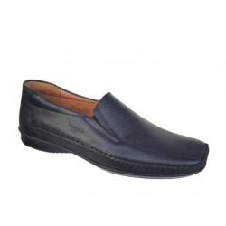 Ανδρικά Παπούτσια Boxer shoes 15317 14-111 Μαύρα Μοκασίνια