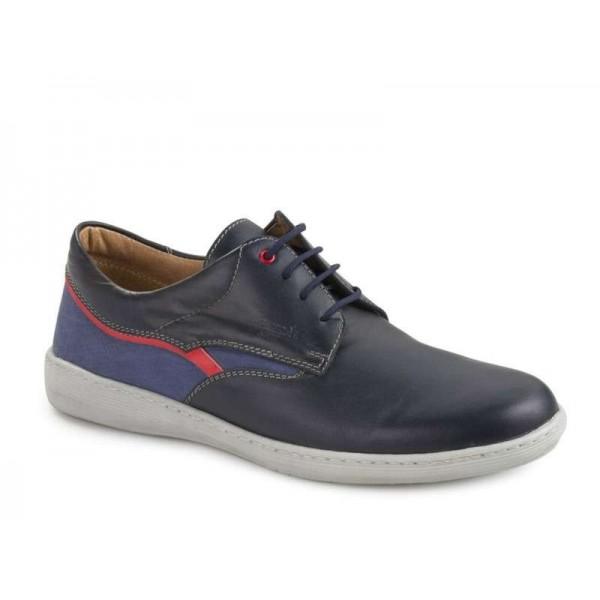Ανδρικά Παπούτσια Boxer 21114 12-016 Μπλε Μοκασίνια
