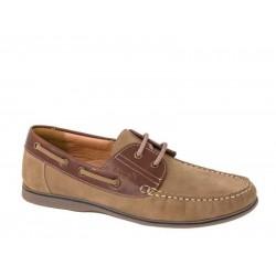 Ανδρικά Παπούτσια Boxer 21118 30-114 Καφέ Boat Σκαρπίνια