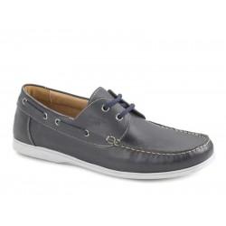 shoes Ανδρικά Παπούτσια Boxer 21118 12-016 Μπλε Boat Σκαρπίνια