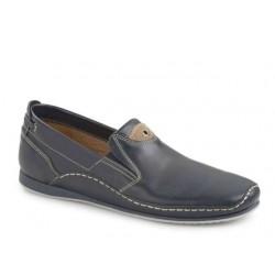 Ανδρικά Παπούτσια Boxer shoes 21127 12-016 Μπλε Μοκασίνια