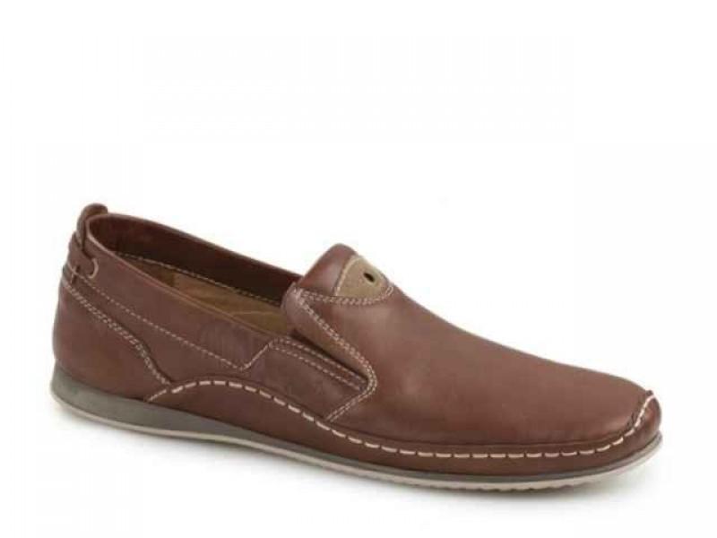 Ανδρικά Παπούτσια Boxer shoes 21127 14-119 Ταμπά Μοκασίνια
