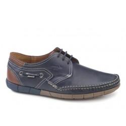 Ανδρικά Παπούτσια Boxer shoes 21146 12-016 Μπλε Boat Σκαρπίνια