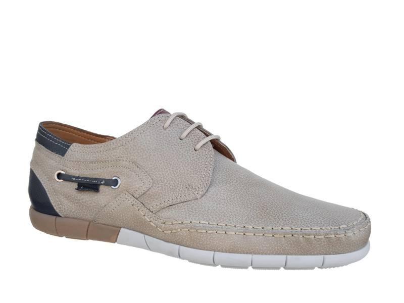 Ανδρικά Boxer Παπούτσια 21146 12-508 Γκρι Boat Σκαρπίνια