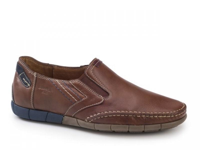Παπούτσια Boxer shoes 21147 14-119 Ταμπά Boat Ανδρικά Μοκασίνια