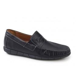 Ανδρικά Παπούτσια Boxer 21149 12-511 Μαύρα Μοκασίνια