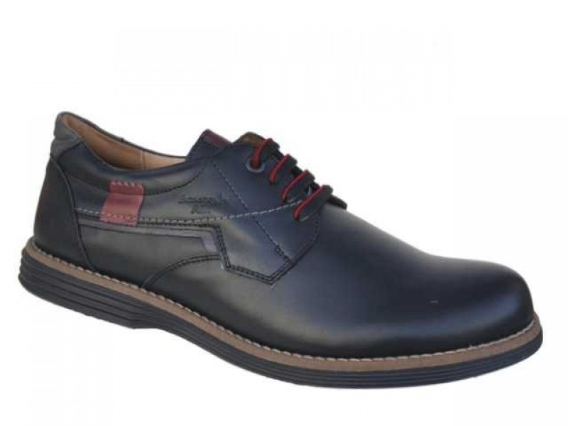 1083ed6ef4b -35% Ανδρικά Παπούτσια Boxer 41049 10-011 Μαύρα Casual Δερμάτινα Σκαρπίνια
