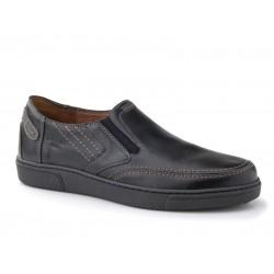 Ανδρικά Παπούτσια Boxer 41065 11-111 Μαύρα Spor Δερμάτινα Μοκασίνια