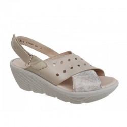 Παπούτσια Boxer 82606 17-025 Μπεζ Γυναικεία Πέδιλα