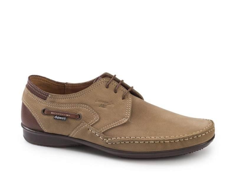 Ανδρικά Παπούτσια Boxer 15313 30-114 καφέ Boat Σκαρπίνια