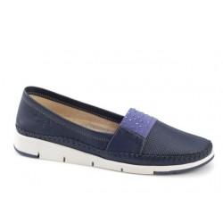 Γυναικεία Παπούτσια Boxer 56053 12-516 Μπλε Μοκασίνια - Loafers