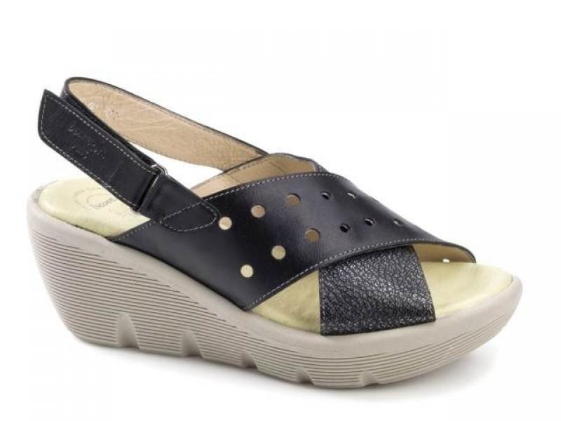 Παπούτσια Boxer 82606 17-011 Μαύρα Γυναικεία Πέδιλα