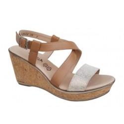 Γυναικείες πλατφόρμες, πέδιλα | Παπούτσια Boxer soft 82622 17-005